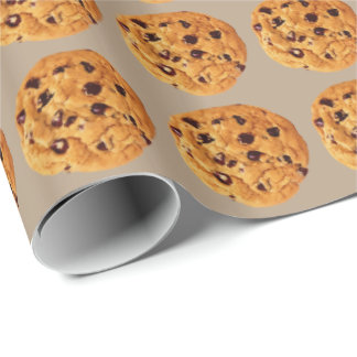 Chocolate Chip Cookies Wrapping Paper