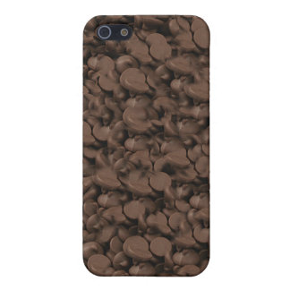 chocolate choc buds cocoa sweet treat melted choc iPhone 5/5S case