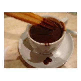 Chocolate & Churros Postcard