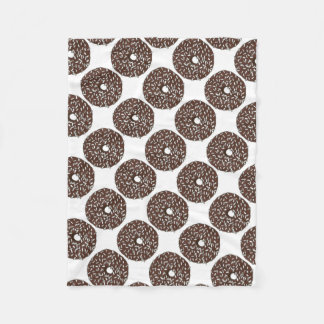 Chocolate Coconut Donut Doughnut Foodie Blanket