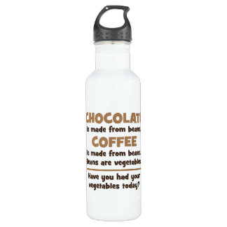 Chocolate, Coffee, Beans, Vegetables - Novelty 710 Ml Water Bottle