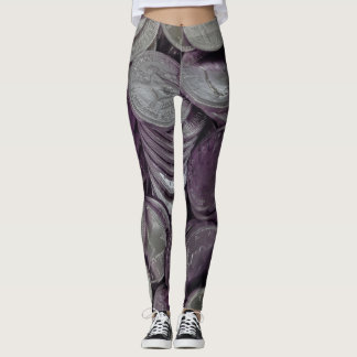 Chocolate Coins Candy Leggings