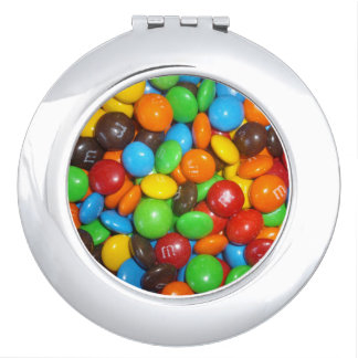Chocolate Colorful Candy, Makeup Mirror