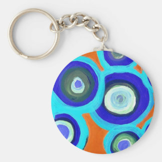 Chocolate Covered Blueberries Basic Round Button Keychain