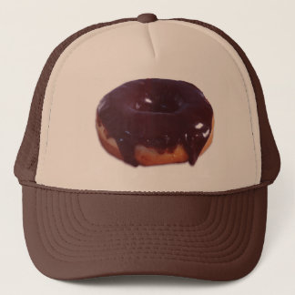 Chocolate Covered Donut Trucker Hat