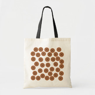 Chocolate Cupcake Pattern. Tote Bag