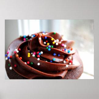 Chocolate Cupcake  Photograph Print
