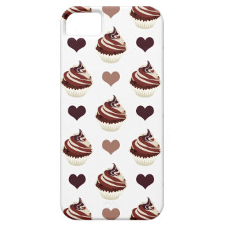 chocolate cupcakes pattern iPhone 5 case