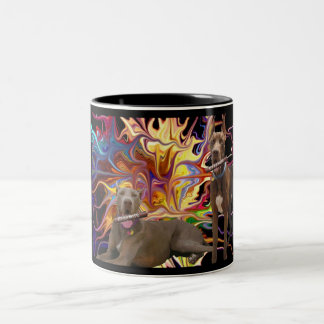 Chocolate Dane Blast Two-Tone Coffee Mug