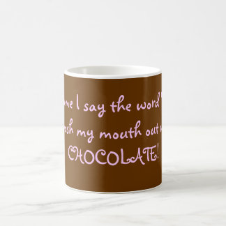 Chocolate Diet Mug