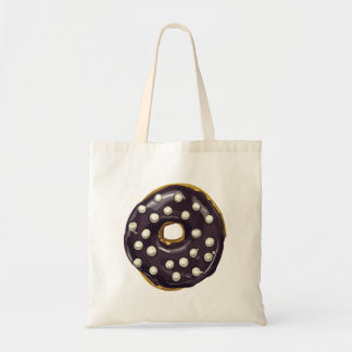 Chocolate Dipped Doughnut. Tote Bag