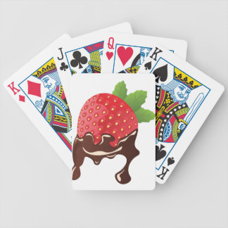 Chocolate Dipped Strawberry Poker Deck