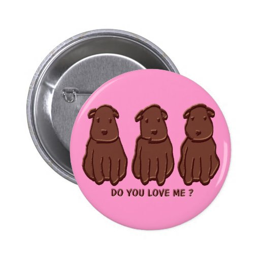 Chocolate Dogs Pin