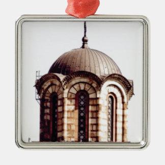 chocolate dome metal ornament