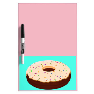 Chocolate Donut Dry Erase Board