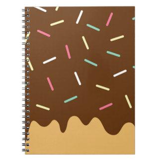 Chocolate Donut Note Books