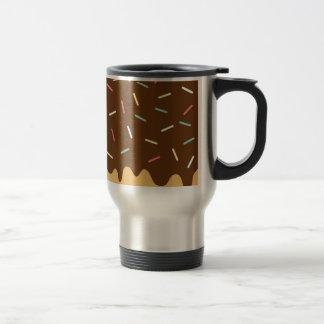 Chocolate Donut Travel Mug