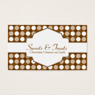 Chocolate Dots Business Card