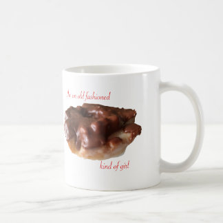 Chocolate Doughnut Old Fashion Girl Coffee Mug