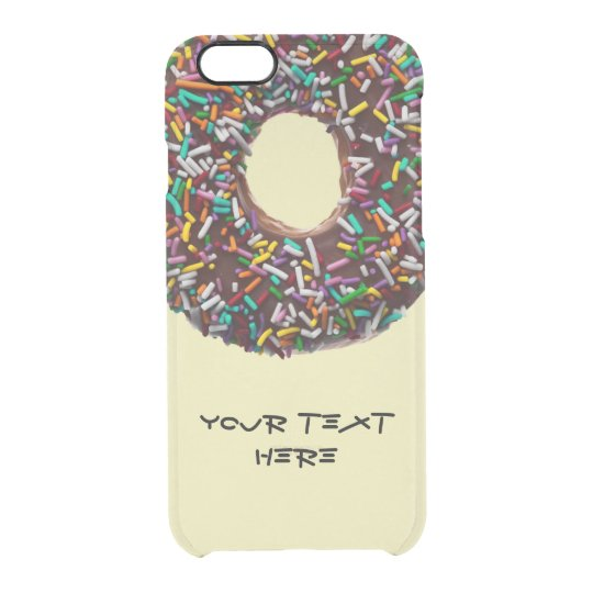 Chocolate Doughnut with colourful sprinkles Uncommon iPhone Case