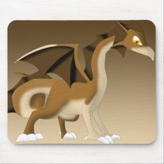 Chocolate Dragon Fantasy Cartoon Mouse Pads