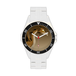 Chocolate Dragon Wrist Watches