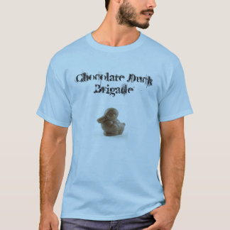 Chocolate Duck Rock Poster Style T-Shirt