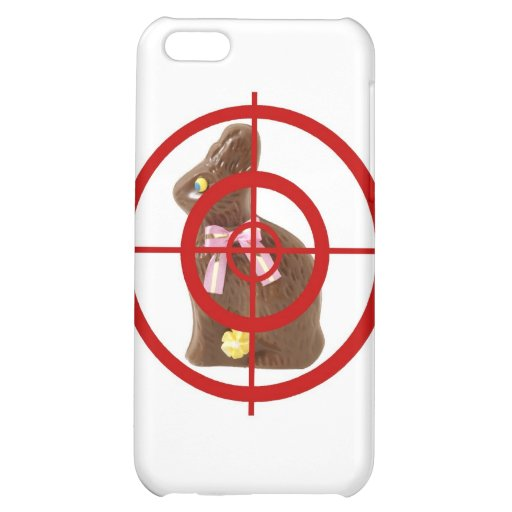 Chocolate Easter Bunny Target Case For iPhone 5C