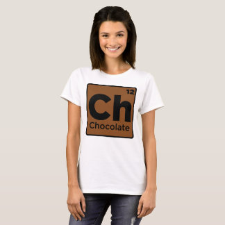 Chocolate Element For Chocolate Lover T-Shirt