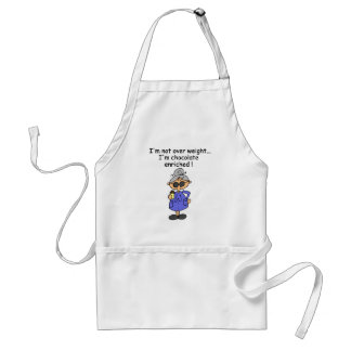Chocolate Enriched Humor Adult Apron