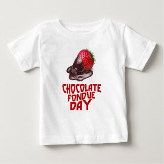 Chocolate Fondue Day - Appreciation Day Baby T-Shirt
