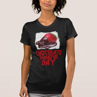 Chocolate Fondue Day - Appreciation Day T-Shirt