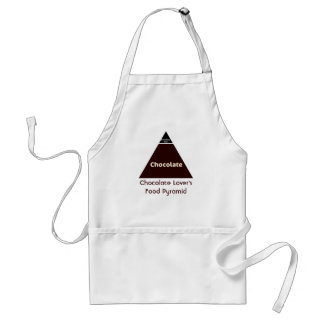 Chocolate Food Pyramid Standard Apron