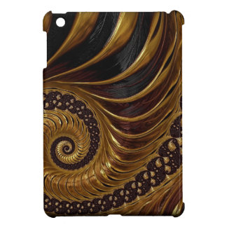 Chocolate Fractal iPad Mini Covers