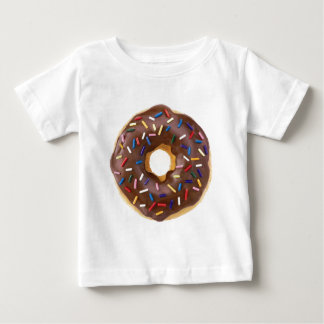 Chocolate Frosted Donuts Baby T-Shirt