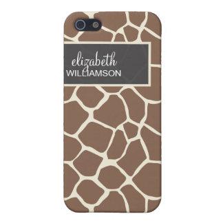 Chocolate Giraffe Pern Case For The iPhone 5