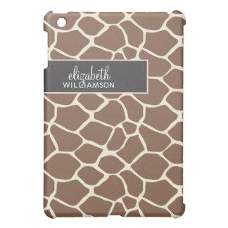 Chocolate Giraffe Pern Cover For The iPad Mini