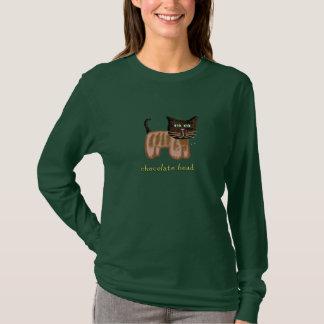 Chocolate Head Cat Shirt