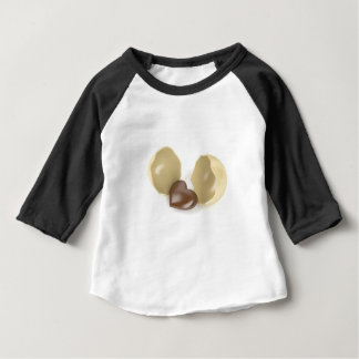Chocolate heart baby T-Shirt