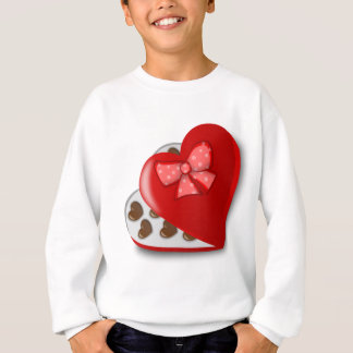 Chocolate Heart Box Sweatshirt