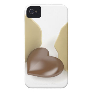Chocolate heart iPhone 4 covers