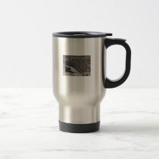 chocolate hedgehog baby travel mug