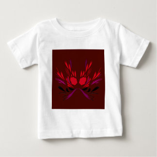 Chocolate henna tattoo design baby T-Shirt