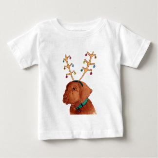 Chocolate Holiday Lab Baby T-Shirt