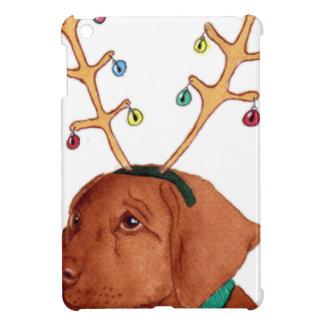 Chocolate Holiday Lab iPad Mini Cover