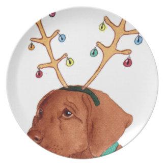 Chocolate Holiday Lab Plate