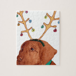 Chocolate Holiday Lab Puzzle