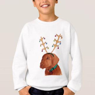 Chocolate Holiday Lab Sweatshirt