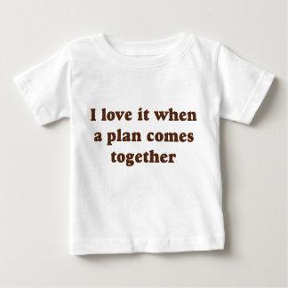 Chocolate I Love It Baby T-Shirt