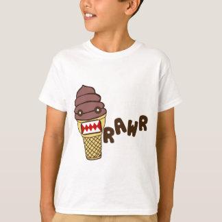 Chocolate Ice Cream Monster RAWR T-Shirt